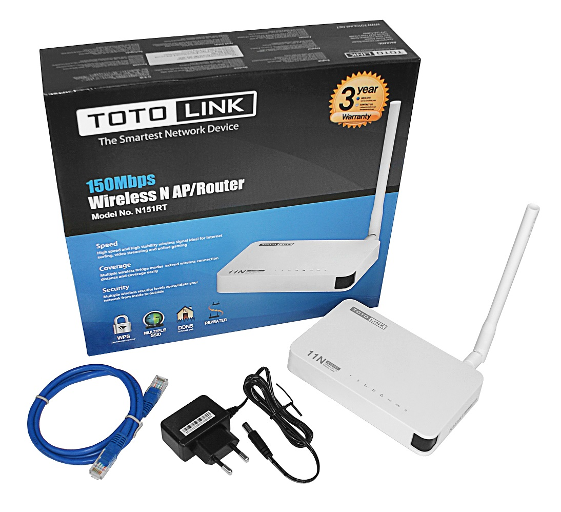 300Mbps Wireless N Router TOTOLINK N300RH